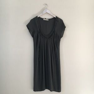 Stella McCartney Gray Silk Dress
